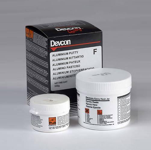 Devcon Aluminium Putty износостойкая шпатлевка с алюминиевым наполнителем